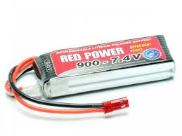 RED POWER ACCU LIPO 900 7.4V C8187