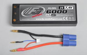 FG POWER PACK 2S 7,4V 6000mAh 60C 06556
