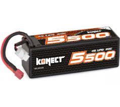 KONECT LIPO 7,4V 5000MAH 100C 2S2P SHORTY KN-LP-RT-2S5000.SY